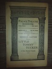 PALACE THEATRE MANCHESTER: LITTLE TOMMY TUCKER - FRANCES DAY - MAX KIRBY