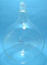 Flat Bottom Glass Flask,5000ml,24/40,Sigle Neck,One Neck,5 Litre,Boiling Bottle