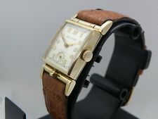 SERVICED 1950ish   BULOVA FLIP TOP PHOTO WATCH....GREAT CONDITION...GREAT PRICE