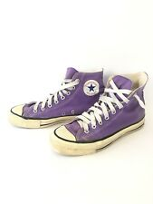 VINTAGE 1970s 1980s MADE IN USA CONVERSE CHUCK TAYLOR ALL STAR PURPLE HIGH SZ 8