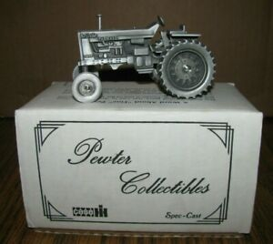 IH Farmall 1206 Turbo Tractor 1:43 Spec Cast Pewter Toy Collectible Lt Ed 1980s