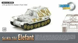 Elefant S.pz.jg.abt.614 Eastern Front 1945 Tank 1:72 Plastic Model Kit 60356