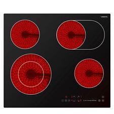 Viesta 4 Plaque de cuisson electrique ceramique table vitrocéramique autonomes