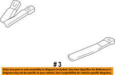 Dodge CHRYSLER OEM 95-96 B2500 Rear Seat Belts-Buckle End 5DW50RAZ