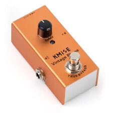 More details for kmise vintage guitar effects pedal single mini phaser dc 9v for electric guitar