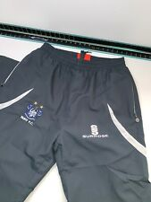 Bury FC Football Club - Surridge Grey Training Tracksuit Bottoms Pants SMALL VGC