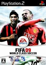 Used PS2 FIFA Soccer 09 SONY PLAYSTATION 2 JAPAN IMPORT