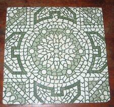 Pretty Vintage Victorien symétrique Rosette Design Tile