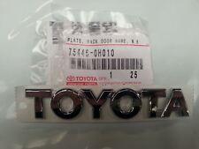 Genuine Toyota Aygo Rear 'Toyota' Badge 75446-0H010
