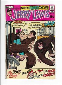 The Adventures of Jerry Lewis Comic Book #123 DC Comics 1971