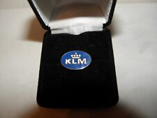 KLM AIRLINE COLLECTIBLE LAPEL TACK PIN AIRPLANE PILOT FATHERS DAY CHRISTMAS GIFT