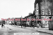 CH 217 - Station Road, Ellesmere Port, Cheshire - 6x4 Photo