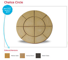 Chalice Circle 1.5m Patio Paving Feature Kit Mellow Gold Call: 0161 962 9127