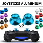 2x Metal Analog Joysticks Thumbstick Cap Cover for PS4 Xbox One Controller Gold