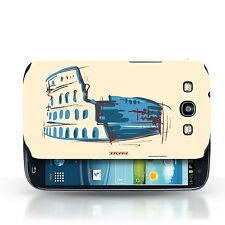 STUFF4 Case/Cover for Samsung Galaxy S3/SIII/Landmarks/Colosseum / Rome