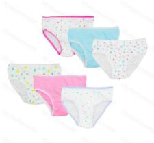 7bafd6b2c9a 6 Pairs Girls Childrens Cotton Pants Briefs Knickers Kids Underwear 2-12  Years