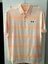 Under Armour Men's Large Polo, Golf Shirt-Nwot!Awesome Color!