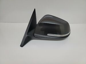 2014-16 BMW 428i 435i Left Driver Side View Door Mirror OEM Black 5 Pins