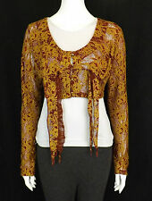 HEART HE008-LC2 CYPRESS TOP RED / GOLD SIZE SMALL