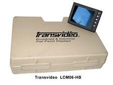Transvideo LCM06-HB im Koffer - PAL, Secam, NTSC