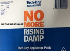 NO MORE RISING DAMP TECH DRY 30 PACK APPLICATOR KIT ONLY****PICK UP ONLY****