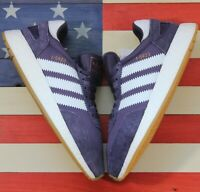 Adidas Originals I-5923 BOOST Running Shoes Purple White Gum [B27873] Men's sz 8