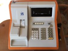 DDS Data Display Retro Cash Register Made in Japan Model JX-2102PH (orange)