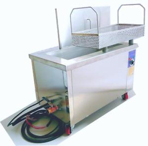 AUBYTEC® 58Liter Industrie-Ultraschall-Bad 65x30x30cm 4800W Mwst ausw. ab Lager