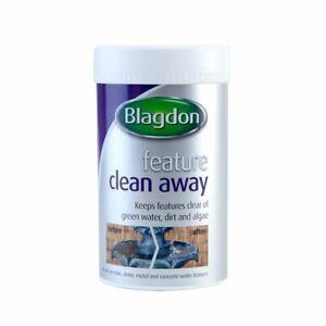 BLAGDON WATER FEATURE CLEAN AWAY 385G FOUNTAIN DIRT FAST TREATMENT GREEN ALGAE