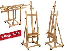 Profi-Staffelei Modell 120, Buchenholz, Studio-, Atelierstaffelei, standfest
