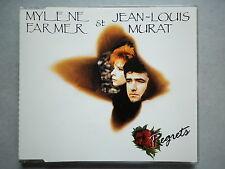 Mylene Farmer / Jean Louis Murat cd maxi Regrets