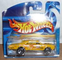 Hot Wheels Pontiac GTO Flower Power Short Card 2001 **