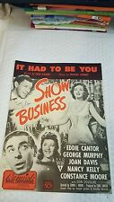 It Had to be You1939 by Gus Kahn Sheet music