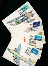 Portugal, 4 Maxi-Cards, Flugzeuge, Aeroplan (M10)