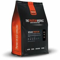 THE PROTEIN WORKS Vegan Dairy Free High Protein Shake, Chocolate Silk, 500 g