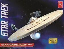 Star Trek U.S.S. Enterprise Refit 1/537 scale skill 2 AMT model kit#1080