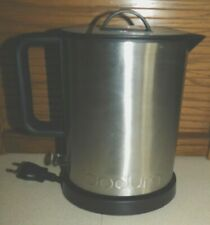 New listing Bodum 1.0-Liter Stainless Steel Water Kettle in Silver 11787