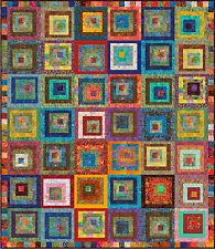 "LOVINA - Batik 89"" x 77"" - Pre-cut Quilt Kit by Quilt-Addicts Kng Sgle"