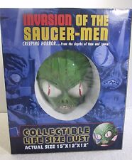 "Invasion of the Saucer-Men Collectible Life Size 15"" Bust - Breygent 2008"