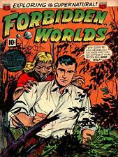 SUPER HERO COVER ACG BOOK FORBIDDEN WORLDS 17 VINTAGE COMIC POSTER PRINT 1385PY