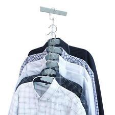 Ohuhu Magic Hangers Set of 6 Save Closet Space Clothes Organizer Purse Hanger