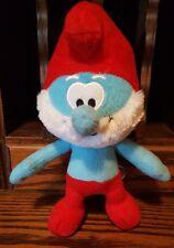 10 inch Stuffed Plush Papa Smurf