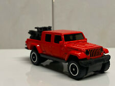 2020 Hot Wheels Baja Blazers Red '20 Jeep Gladiator Real Riders Super Custom