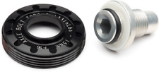 Cannondale Lefty 50 / Lefty Hybrid Axle Cap and Bolt - Black - QC117