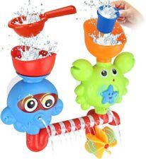 Goodlogo Bath Toys Bathtub For 2 3 4 Year Old Kids Toddlers Wall Toy Waterfall