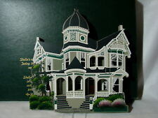 Shelia's Collectible 1994 Victorian Home Brehaut House Alameda, Ca w/ Box