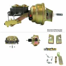 "63-66 Chevy PU Truck Firewall Mount Power 7"" Single Brake Booster Kit Disc/Disc"