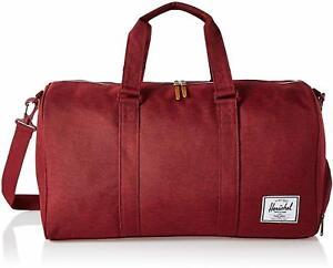 Novel Duffel Bag by Herschel, Winetasting Crosshatch