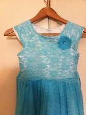 Summer  Holiday beautiful  Costco lace top dress size  10 12 worn twice
