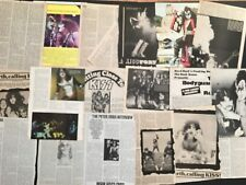KISS Full Page  Magazine Pinup's / Clippings All From The 70's